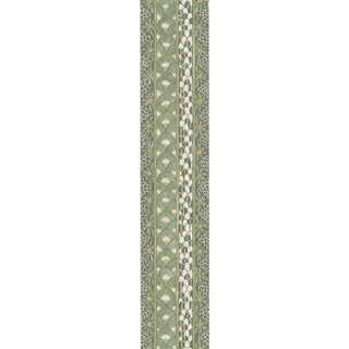 Cole & Son Ardmore Border Wallpaper Roll - Olive For Sale