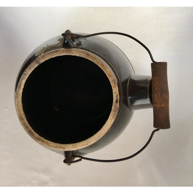 Antique Stoneware Batter Jug For Sale In Monterey, CA - Image 6 of 10