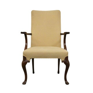 Late 20th Century Vintage Hickory Chair James River Collection Mahogany Arm Chair For Sale