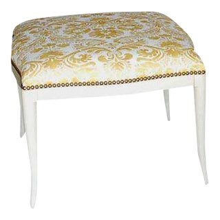 Paul Marra Design Klismos Ottoman For Sale