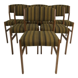 Set of 6 Danish Dining Chairs by Spottrup