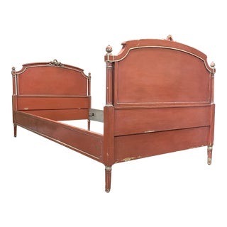 Antique French Louis XVI Style Twin Bed For Sale