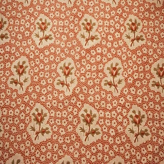 Boho Chic Jane Shelton Rose Medallions Linen Designer Fabric by the Yard For Sale
