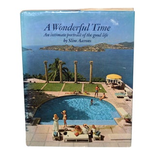 The Wonderful Time - a Portrait of the Good Life by Slim Aarons C.1974 For Sale
