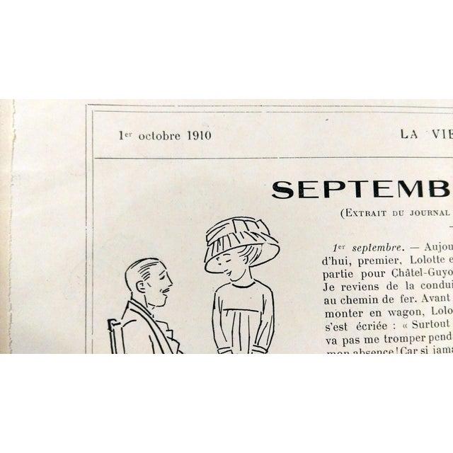 "1910 La Vie Parisienne ""Brighton Beach"" Print - Image 7 of 7"
