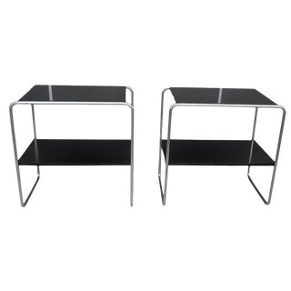20th Century Marcel Breuer Bauhaus Console Tables - a Pair For Sale