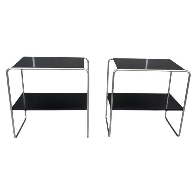 20th Century Marcel Breuer Bauhaus Console Tables - a Pair For Sale