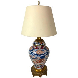 Imari Ormolu-Mounted Ginger Jar Lamp
