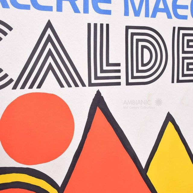 Galerie Maeght Calder Poster For Sale In San Diego - Image 6 of 9