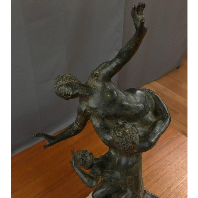 """""""Abduction of the Sabine Women"""" Metal Sculpture For Sale In San Francisco - Image 6 of 11"""