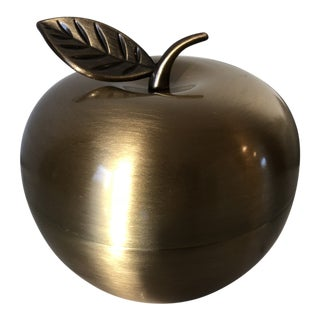 Lenox for Kate Spade Brass Apple Box For Sale