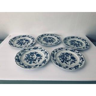Blue Danube English China Salad Plates - Set of 5 Preview