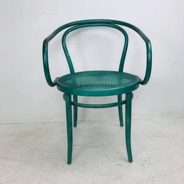 Thonet Set of 8 Thonet Bentwood Dining Chairs For Sale - Image 4 of 10