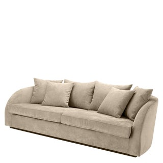 Eichholtz Les Palmiers Greige Sofa For Sale