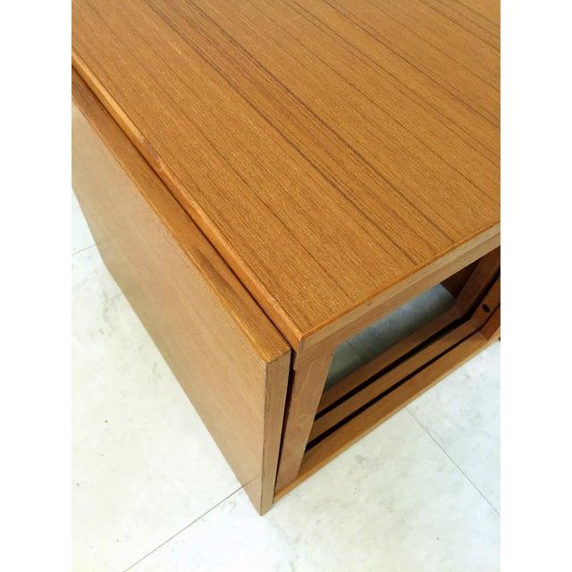 Mid-Century Modern Kai Kristiansen Teak Nesting Tables - Set of 3 For Sale - Image 3 of 9