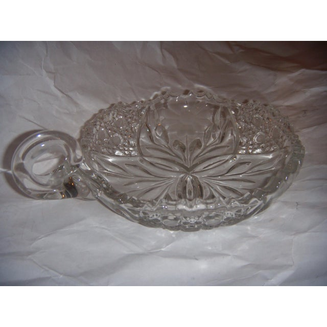 Mid-Century Cut Glass Candy Dish - Image 5 of 5