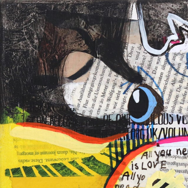 """""""Mary's Love"""" Original Artwork by Fredi Gertsch For Sale - Image 4 of 9"""