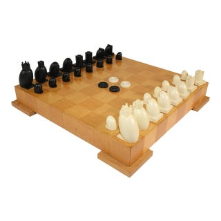 Michael Graves Postmodern Chess and Checkers Set For Sale