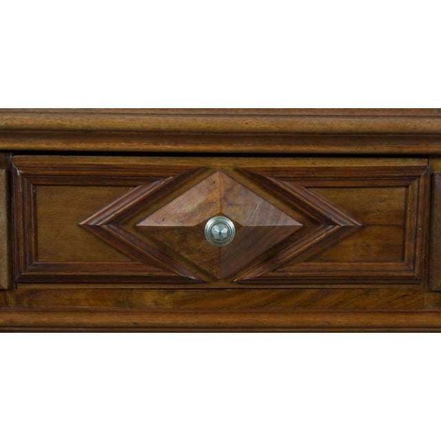 1900s French Marble Topped Walnut Pot Cupboard For Sale In Atlanta - Image 6 of 13