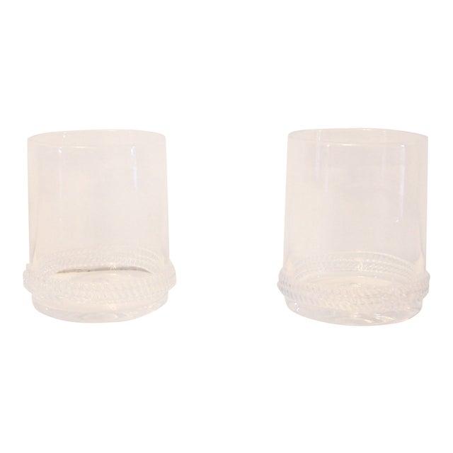 "Juliska ""Dean"" Rocks Glasses - a Pair For Sale"