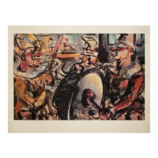 """1950s Georges Rouault, """"Parade"""" Original Period Lithograph For Sale"""