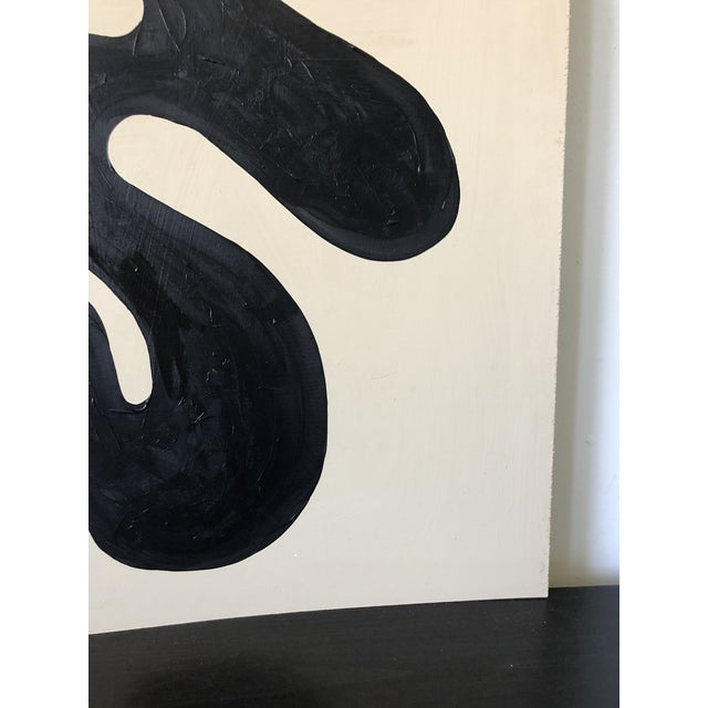 Loop Abstract Acrylic Oversized Diptych Painting For Sale In Los Angeles - Image 6 of 9