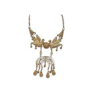 1960s Vintage Egyptian Style Necklace For Sale