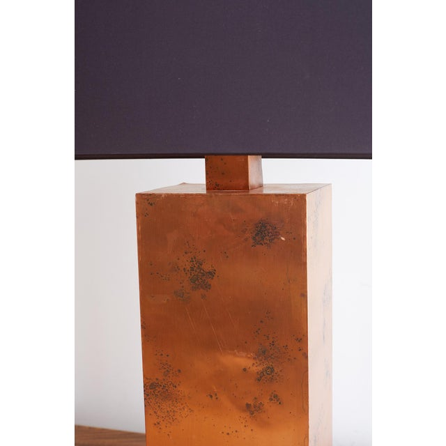Patinated Copper Lamps by Arteriors Tanner Kenzie For Sale In San Francisco - Image 6 of 13