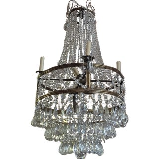 X Detail Chandelier For Sale