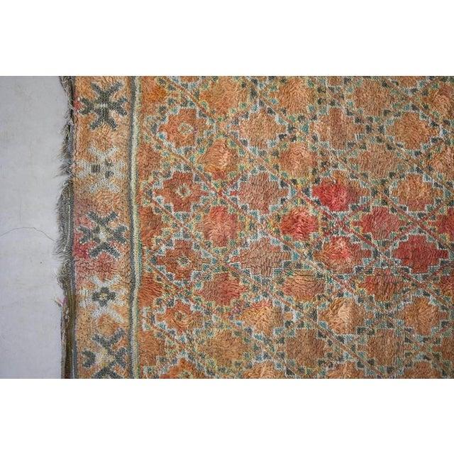 Moroccan Beni Mguild Vintage Moroccan Rug - 6′3″ × 9′5″ For Sale - Image 3 of 9