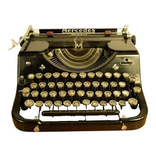 Selecta Typewriter from Mercedes, 1930s