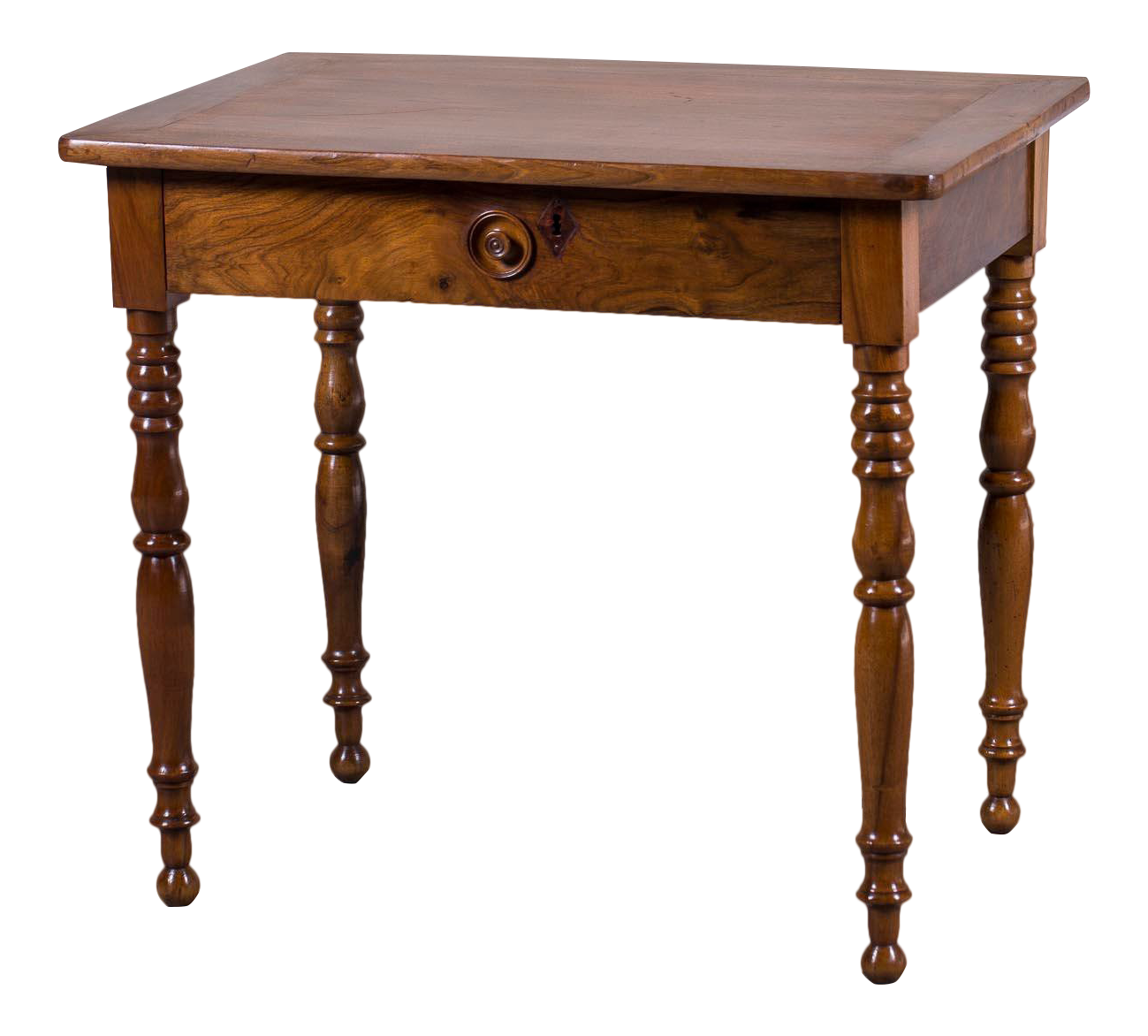 Lovely Mid 19th Century Antique French Louis Philippe Walnut Table
