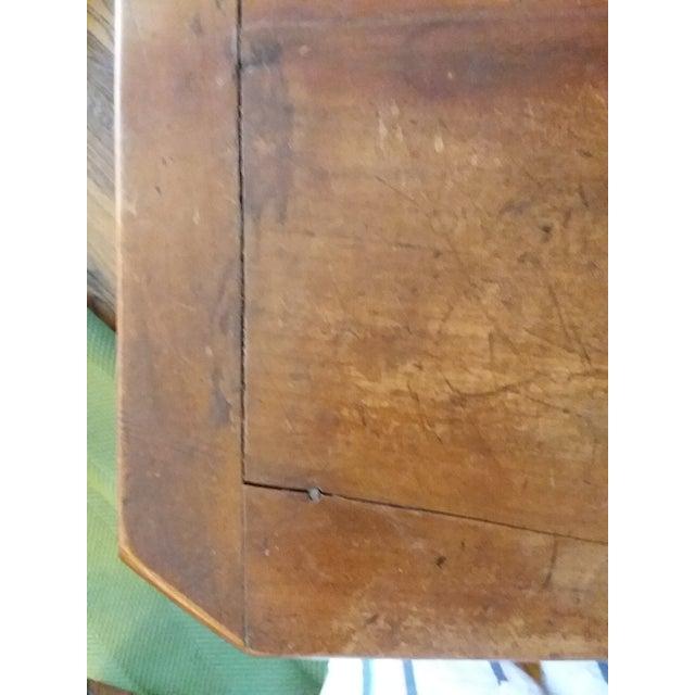 Brown Antique Beidermeier Fruitwood Bureau For Sale - Image 8 of 13