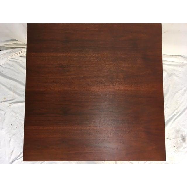 Edward Wormley Walnut Side Table - Image 5 of 11