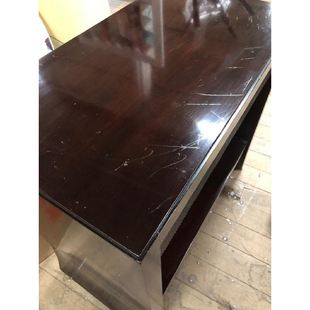 Wood Barbara Barry Console for Baker Furniture Company For Sale - Image 7 of 7