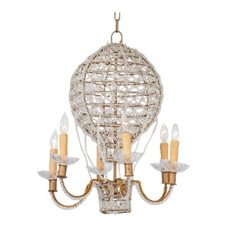 Louis XVI Style Balloon Motif Chandelier