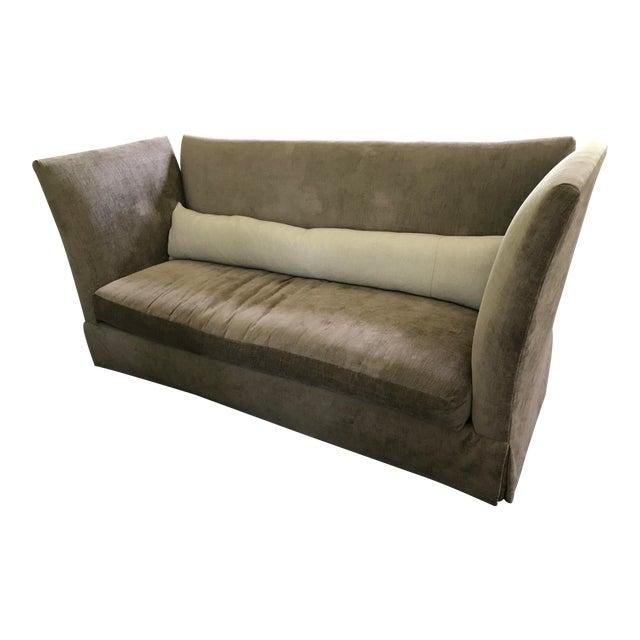 Lee Industries Sagging Ridge Sofa, McAlpine Collection For Sale
