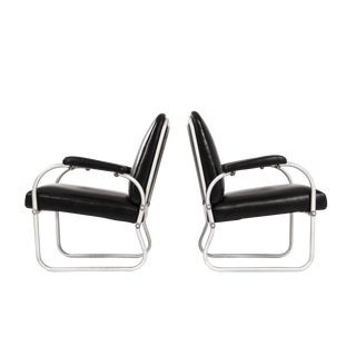 Pair of Namco Lounge Chairs For Sale