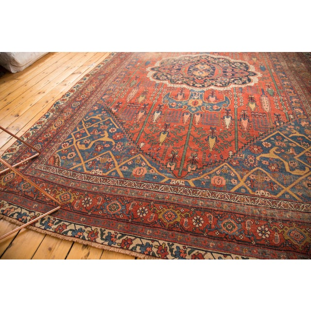 "Antique Bijar Carpet - 7'6"" X 11'10"" - Image 3 of 7"