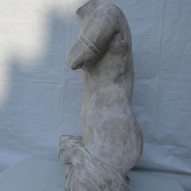 1900 - 1909 Antique Plaster Cast of Greek Goddess Torso For Sale - Image 5 of 11