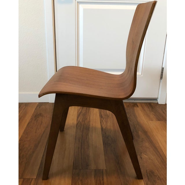 Mid-Century Modern West Elm Crest Bentwood Dining Chair For Sale - Image 3 of 4