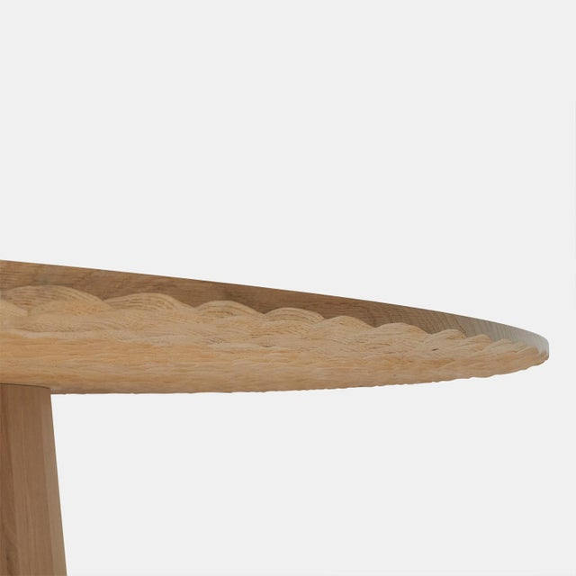 Contemporary Oak Dining Table by Kaspar Hamacher For Sale - Image 3 of 7
