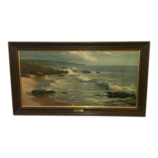 Peter Ellenshaw Print of the Ebbing Seascape For Sale