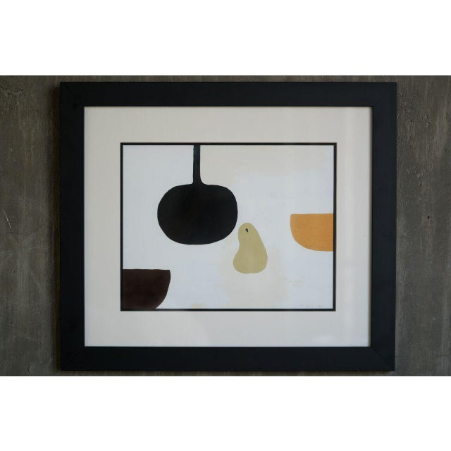 William Scott slant select -- Untitled William Scott (Royal Artist UK) For Sale - Image 4 of 4
