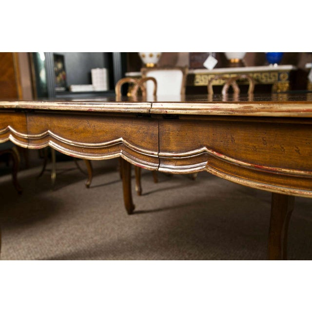 French Louis XV Style Oval Dining Table by Jansen - Image 6 of 8