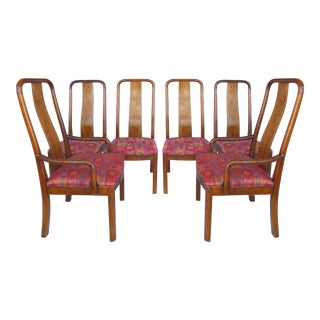 Bernhardt Tall Back Dining Chairs - Set of 6