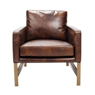 Leather Club Chair For Sale