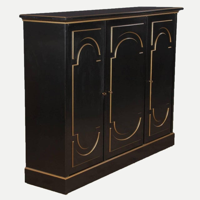 Maurice Hirsch Neoclassical Maurice Hirsch Cabinet, 1950s For Sale - Image 4 of 8