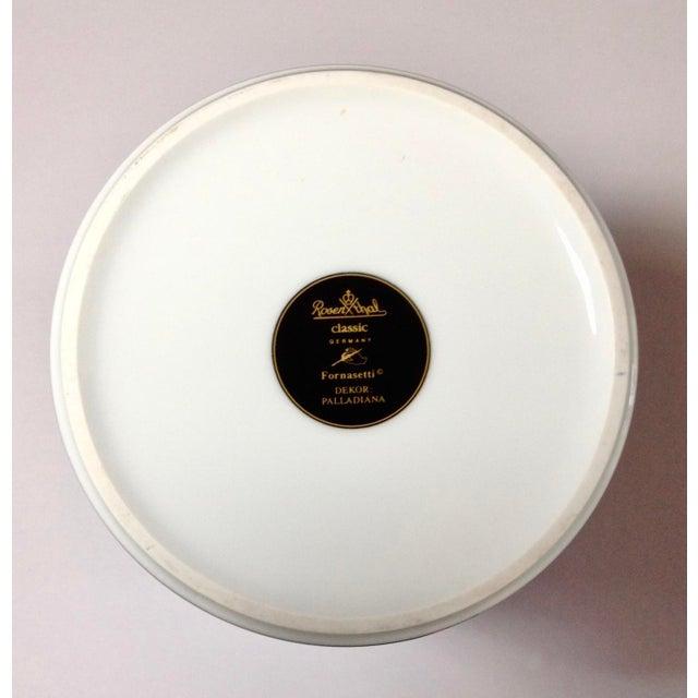 Italian Rosenthal Fornasetti Palladiana Vase/ Wine Chiller For Sale - Image 3 of 5