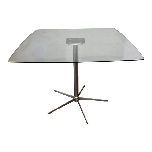 Square Glass Dining Table - Image 1 of 10